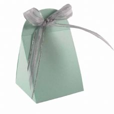 Light Green Round Top Designer Favour Boxes